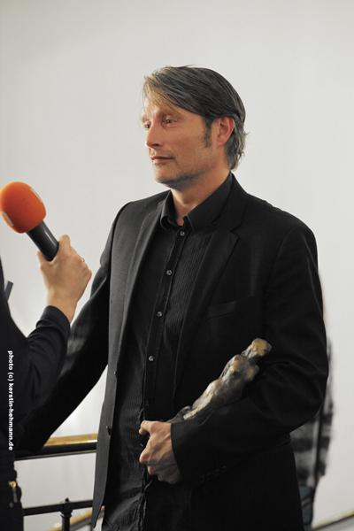 "Mads Mikkelsen Preisträger ""Europa"""